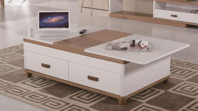 电视柜伸缩组合实木现代简约茶几组合电视柜环保型柜1429#