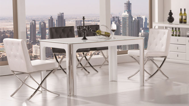 实木餐桌大理石餐桌长方形现代简约小户型餐桌餐台213