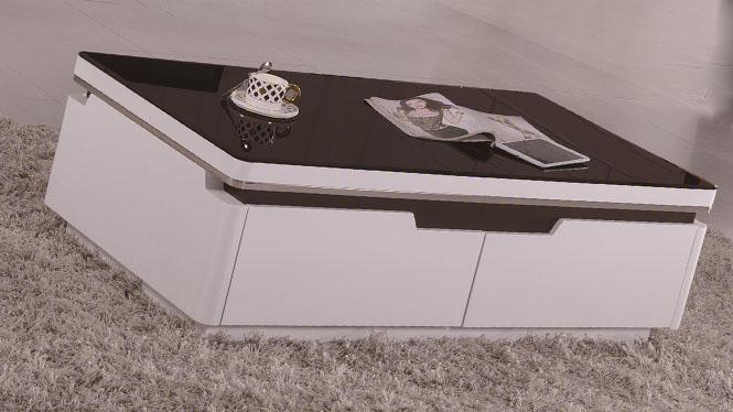 实木茶几 现代简约沙发边几时尚方形茶几小户型边几1420