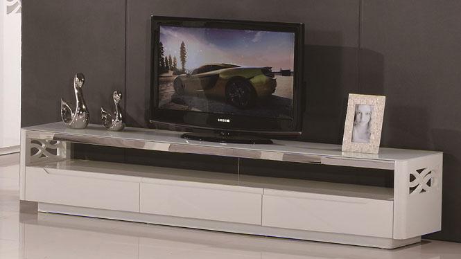 现代中式实木电视柜 茶几电视柜客厅柜地柜简约组合1302