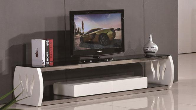 简约现代实木电视柜小户型实木地柜 客厅电视机柜组合1305