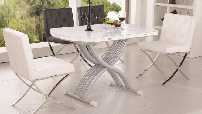 实木可伸缩餐桌椅组合小户型方桌吃饭桌子长方形实木餐台1423
