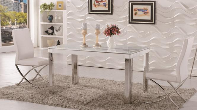 简约时尚 现代饭桌餐台 餐桌椅组合 实木餐桌 小户型1310