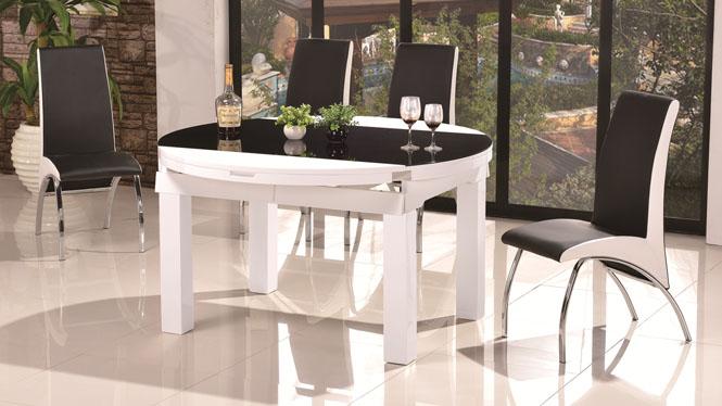 实木餐桌方形实木餐桌椅组合客厅餐桌中式餐桌1043