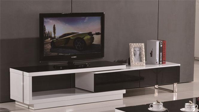 现代简约实木可伸缩电视柜组合套装 小户型地柜1043