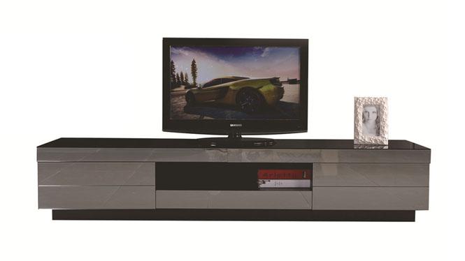 现代实木电视柜 茶几电视柜客厅柜地柜简约组合1047