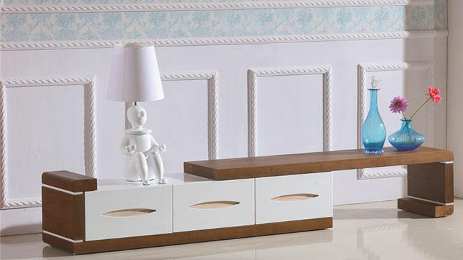电视柜 实木客厅矮柜卧室地柜简约电视机柜组合3306