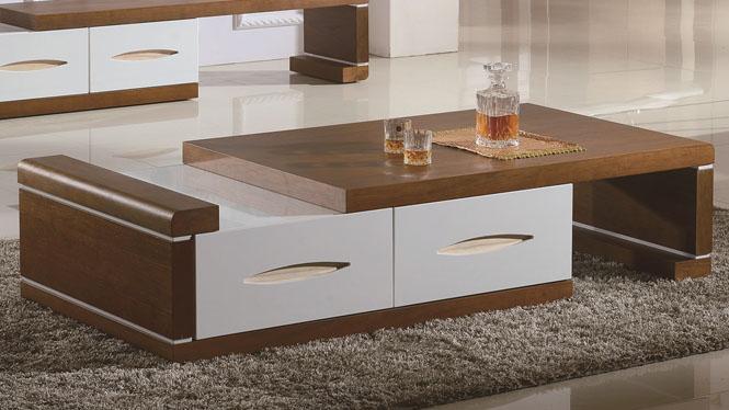 简约现代创意时尚实木茶几小户型客厅水曲柳茶桌3306