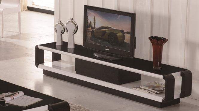 电视柜 实木客厅矮柜卧室地柜简约电视机柜组合3307