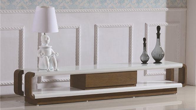 现代中式实木电视柜 电视柜客厅柜地柜简约组合3307