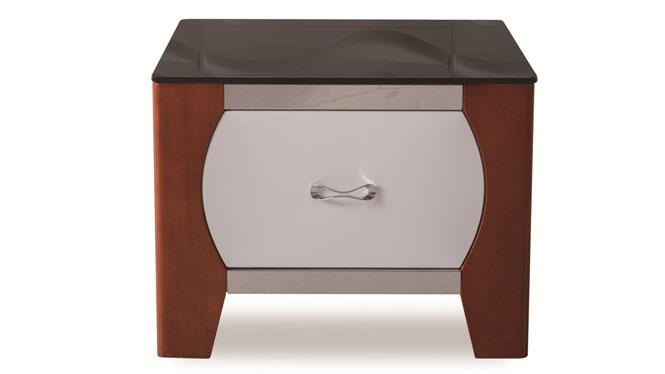 沙发边几 角几几简约边桌实木脚沙发边柜转角电话桌1418