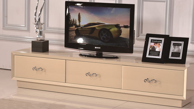 宜家客厅地柜住宅家具时尚简约现代实木电视柜组合1052