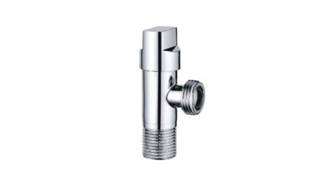全铜纯铜角阀热水器冷热加厚加长三角阀止水阀门DLB-3001
