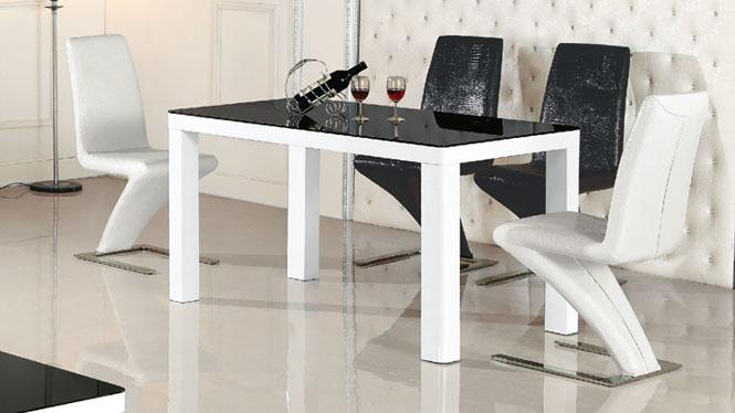 板式餐桌组合吃饭桌快餐桌椅简约家用餐桌子981