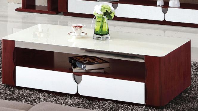 现代简约茶几板式客厅创意组合小户型茶桌 简易茶台839