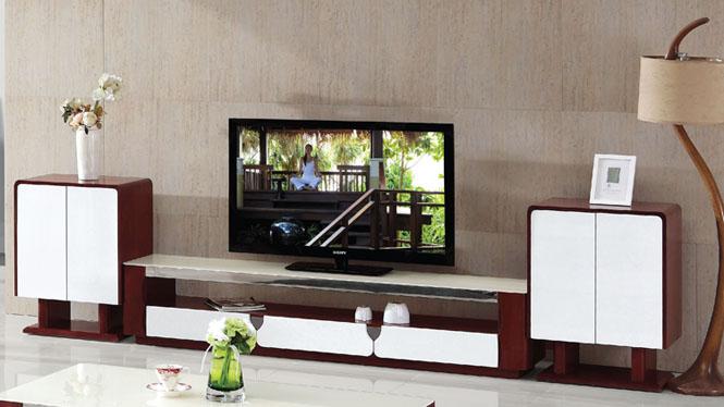现代简约板式储物电视柜创意小户型客厅电视柜组合839