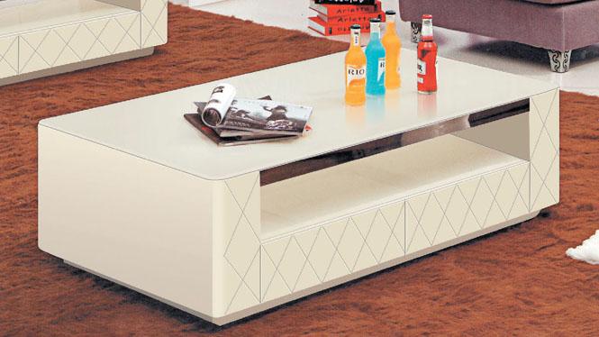 大理石茶几小户型客厅法式新款板式功夫茶桌组合简约960