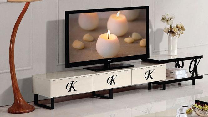 简约现代客厅板式电视柜 卧室小地柜矮柜环保储物柜835