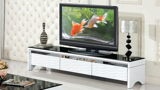 简约现代客厅板式电视柜 卧室小地柜矮柜环保储物柜982