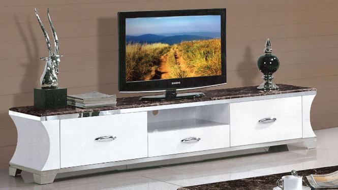 电视柜韩式简约时尚钢化玻璃烤漆大户型创意组合地柜838