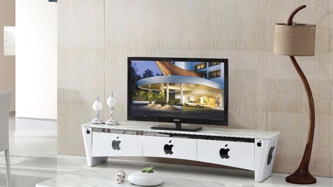电视柜客厅钢化玻璃长方形可储物简约现代电视柜套餐组合833