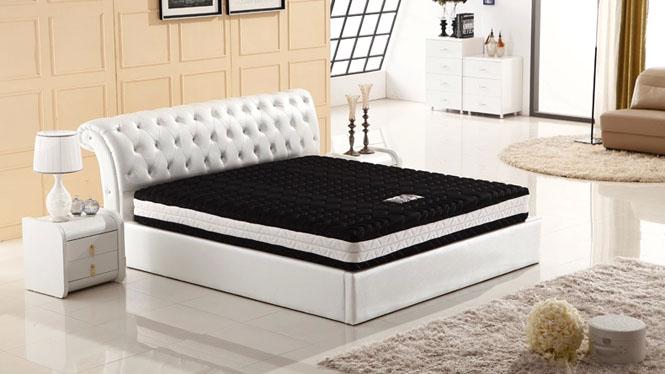 独立袋装静音弹簧床垫 天然乳胶防螨床垫 双人席梦思3D床垫YS-B11