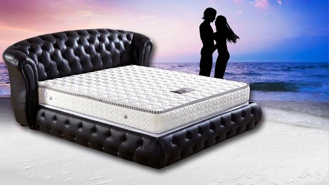 乳胶床垫 特价席梦思棕垫椰棕弹簧床垫1.5 1.8米软硬两用5cmYS-B19