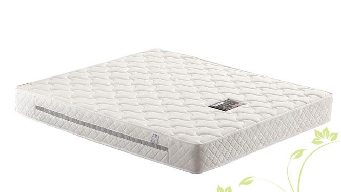 天然乳胶床垫 席梦思床垫1.5 1.8米独立弹簧榻榻米床垫 棕垫YS-A63
