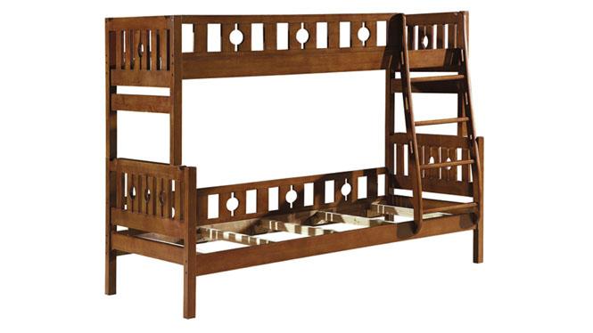 双层床 全实木子母床 高低上下铺母子床 儿童上下床1616#