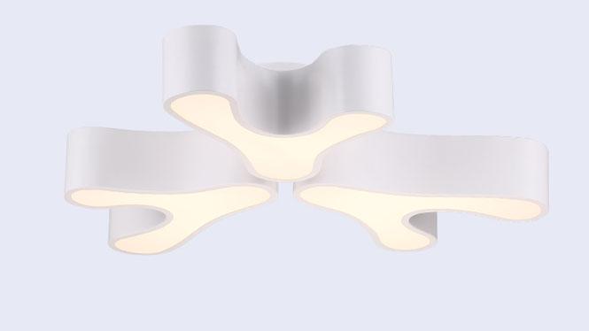 新款鹿角亚克力客厅吸顶灯 餐厅卧室LED遥控灯饰X-8003-3