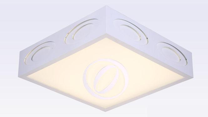 创意宇宙亚克力客厅吸顶灯 餐厅书房卧室LED灯饰X8008方