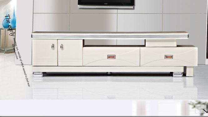 电视柜 家具 现代简约伸缩电视柜茶几组合 客厅家具6ATV1590