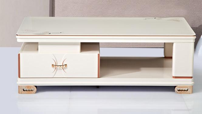 茶几 家具 现代简约伸缩电视柜茶几组合 客厅家具金粉CJ1315