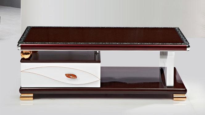 茶几 家具 现代简约伸缩电视柜茶几组合 客厅家具金叶CJ1320
