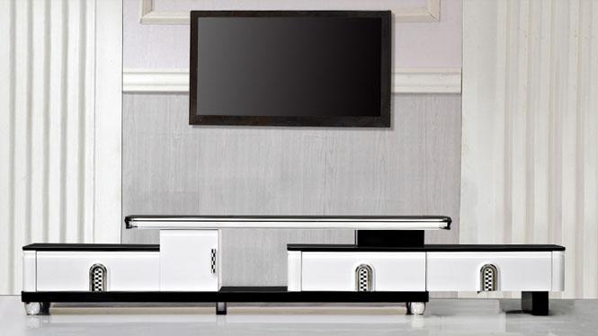 电视柜 家具 现代简约伸缩电视柜茶几组合 客厅家具奇彩TV1960