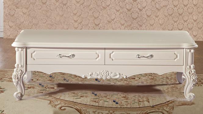 欧式板式客厅家具茶几 板式雕花大理石茶几欧美时尚客厅家具茶几尚欧风情CJ002