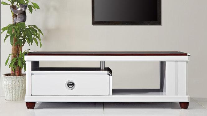 茶几 家具 现代简约伸缩电视柜茶几组合 客厅家具修色CJ1317