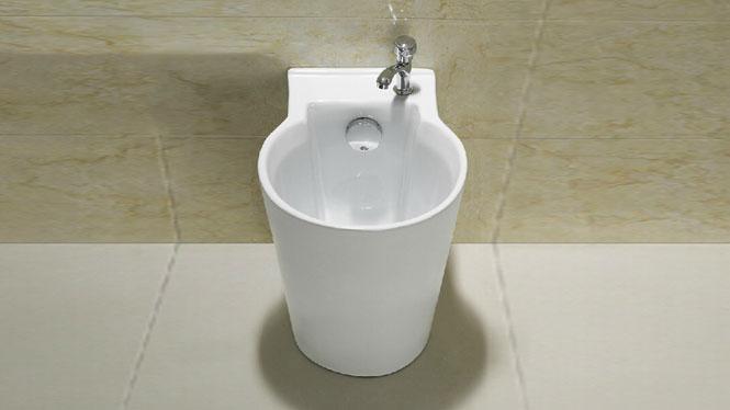 拖把池拖布池陶瓷墩布池大阳台洗盆艺术大号自动下水yf4004