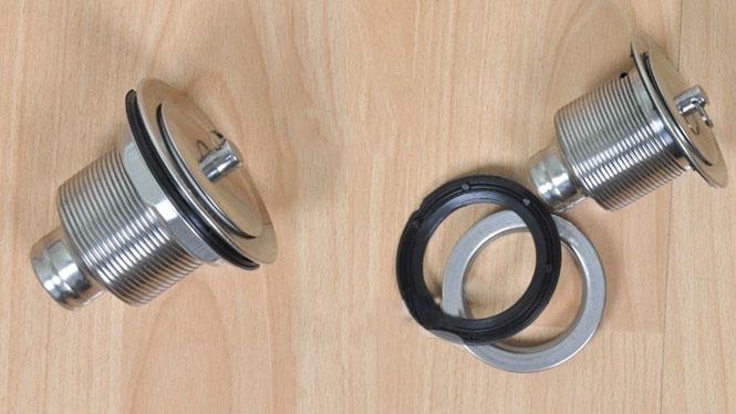 不锈钢洗脸盆面盆下水器通用型防臭下水管 加长S弯排水管软管KSD80001X