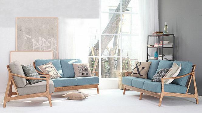 纳欧实木软包家具 软包沙发客厅3030#