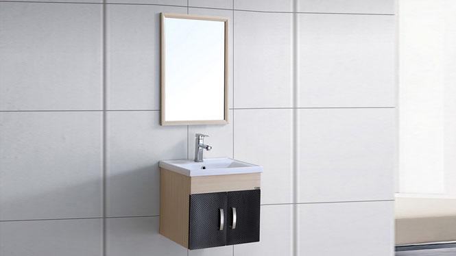 太空铝浴室柜吊柜洗手盆 卫生间洗脸盆组合卫浴柜梳洗台510mm WSJ-8824