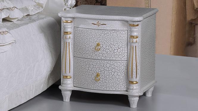 中式床头柜卧室置物柜储物收纳柜床边柜抽屉柜801#