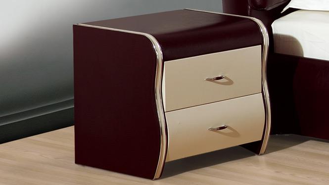 床头柜 现代简约时尚品牌床头柜 储物功能床头立柜35#