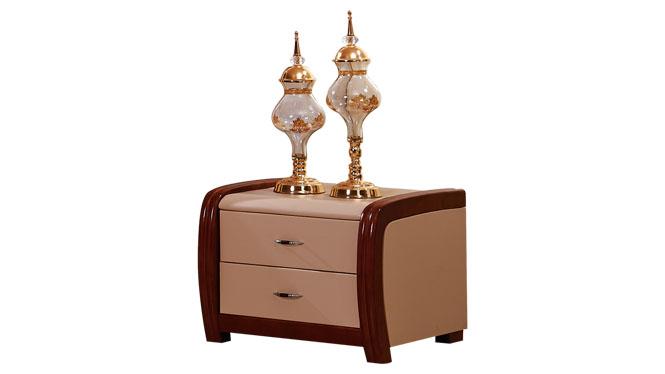 床头柜简约 现代钢琴烤漆个性床边柜 现代宜家特价储物柜116#