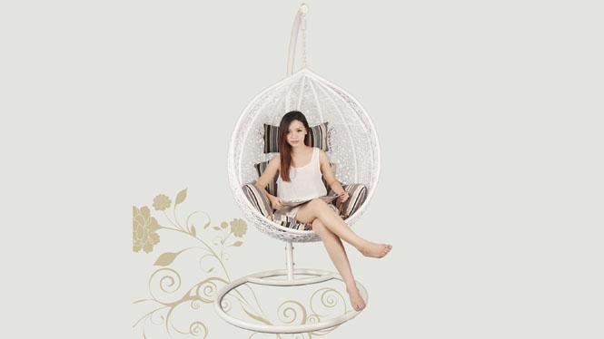 吊篮室内阳台户外休闲成人儿童椅摇椅藤椅秋千吊椅正品潮PE-1001T