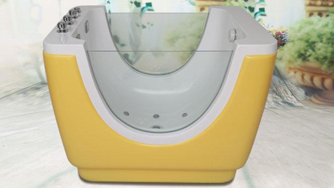 婴幼儿童亚克力洗澡池保温浴盆婴儿游泳馆设备婴儿多色选择浴缸HG-1001