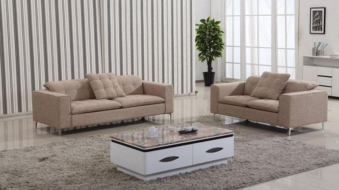 简约布沙发 布艺沙发 组合现代客厅休闲沙发 组合沙发 可拆洗沙发AF1303