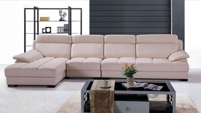 皮沙发 真皮沙发 现代时尚客厅家具皮艺沙发头层牛皮 中厚皮沙发TD763