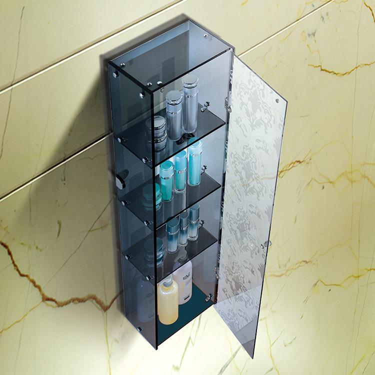 欧式全钢化玻璃酒柜 四层玻璃柜L-B145G