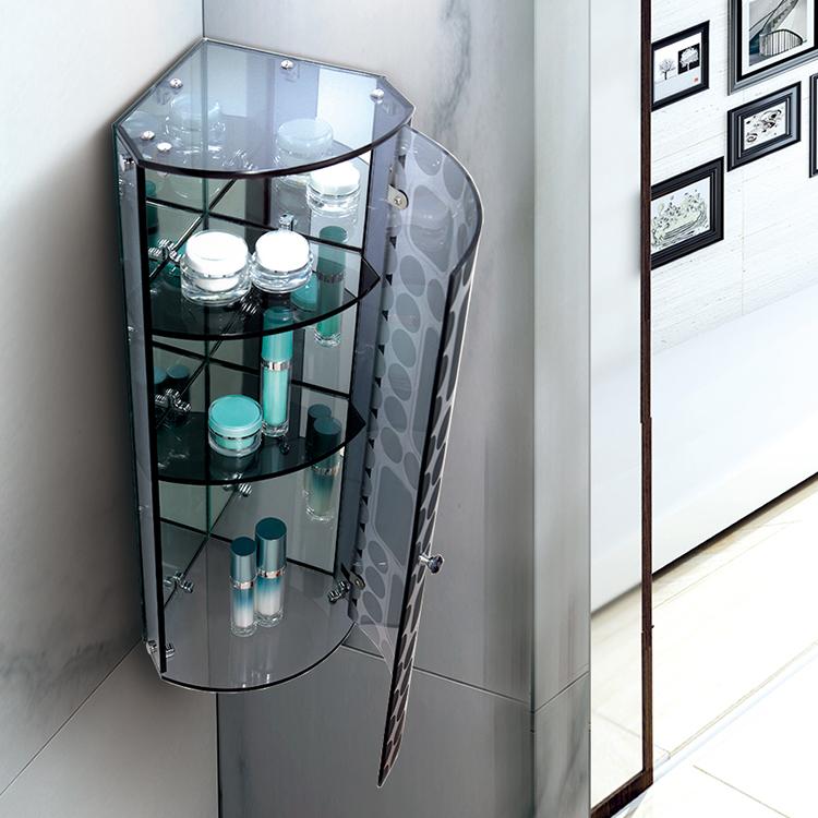 浴室三角柜 淋浴房沐浴房浴室柜边柜侧柜储物柜L-B145E